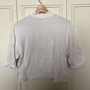 Bershka mock-neck shirt